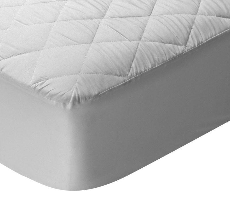 protector de cama acolchado