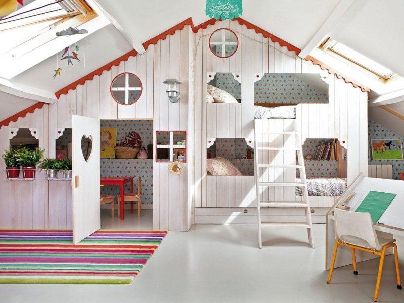 literas espectaculares para habitaciones infantiles