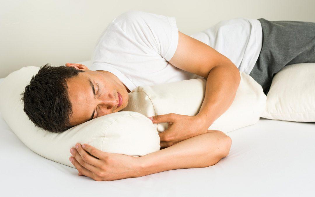 Almohadas cervicales para dormir de lado