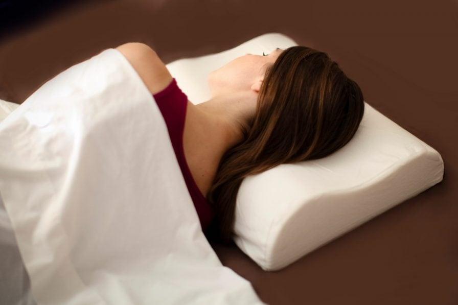 almohada cervical para el dolor de cuello