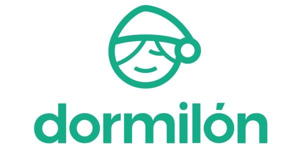 Logo invertido Colchones Nuevo Catálogo Dormilón 2019