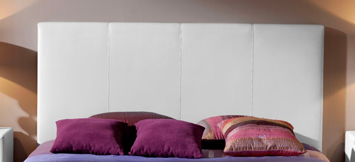 Cabecero de cama tapizado Polipiel Liso CE Home Sinoa