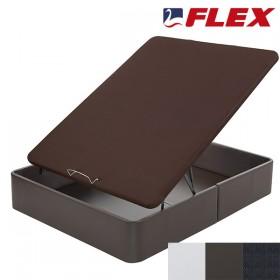 Canape Abatible Flex Con Arcon Tapizado Polipiel Y Tapa Transpirable