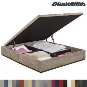 Canape Abatible Dunlopillo Tapizado Tela o Polipiel 34 Cm