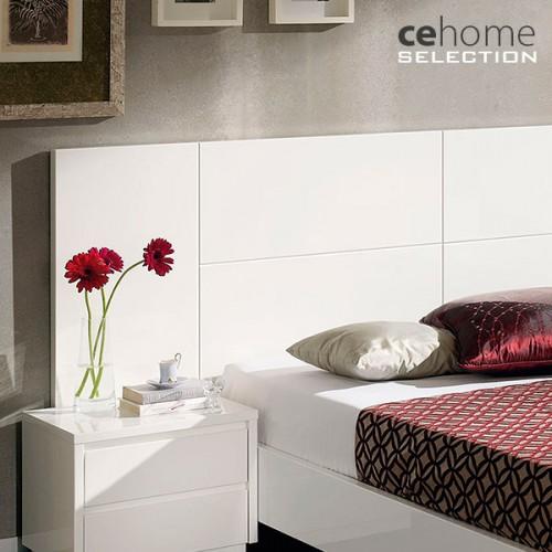 Cabecero de cama Lacado Blanco alto Brillo CE Home Sevilla