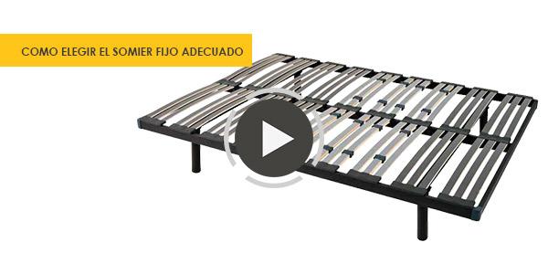 Los mejores somieres y bases tapizadas de marca colch n expr s - Mejor colchon viscoelastico del mercado ...