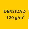 densidad 120 gramos