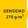 densidad 270 gramos