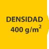 densidad 400 gramos