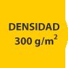 densidad 300 gramos